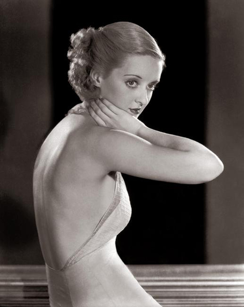 Bette Davis Vintage Icon Blog Fashion Style Glamour 1920s twenties 20s daily inspiration blog old fashioned actress silver screen beauty stylish era flapper