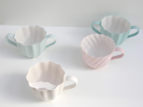 Maria Lintott ceramics pastel china cup saucer teacup dishes homewares decor design style blog pretty inspiration
