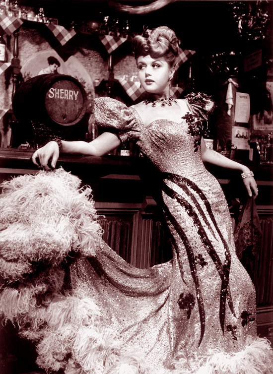 Old West Saloon Girl Dresses http://www.wolfandwillowblog.com/2010/09/vintage-icons-angela-lansbury.html