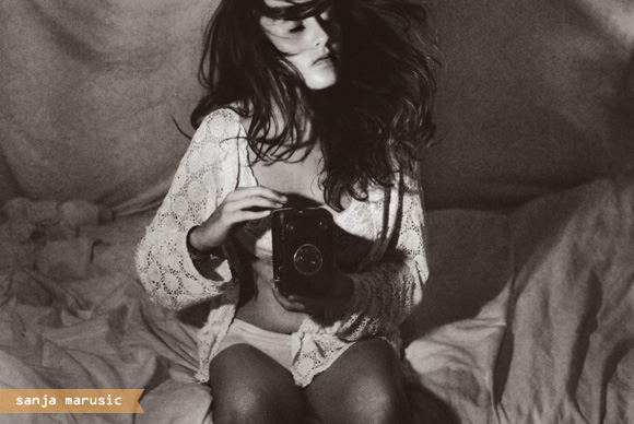Sanja marusic photography inspired black white fashion style art lace vintage