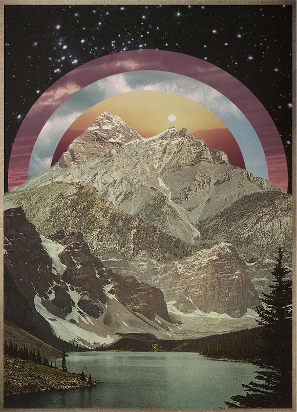 Brent Hildy Art Design Print Mountains Nature Digital Illustration Computer