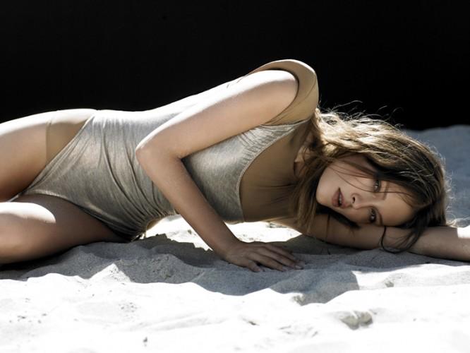 Metallic Amazone Swimsuits Model Fashion Photographer Bruno Barbazan Wolf Willow Travel Swim Style