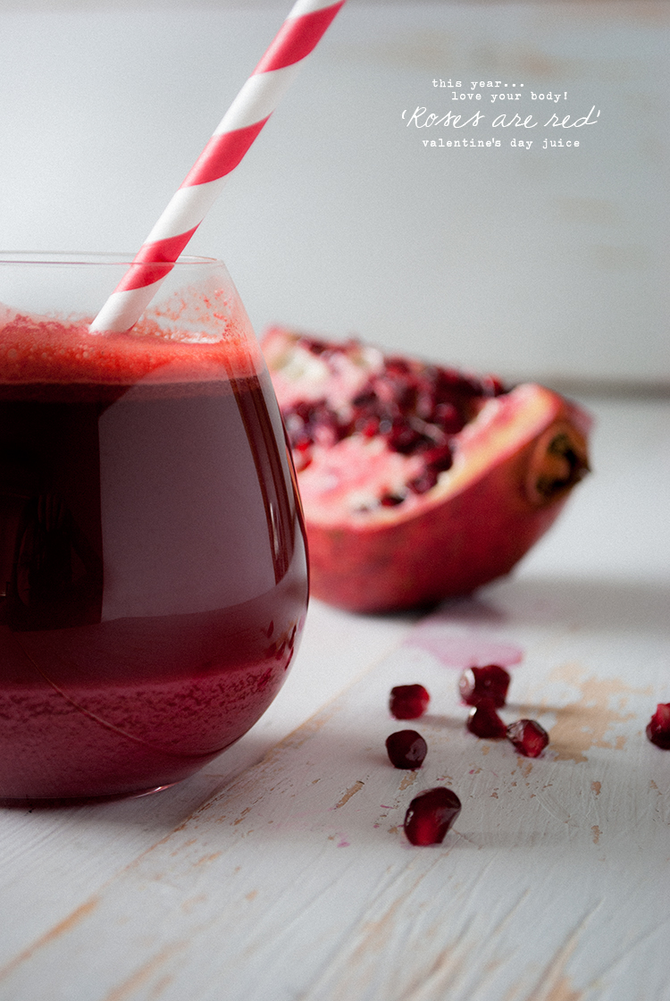 Super Natural Detox Project: Valentine's Day Juice