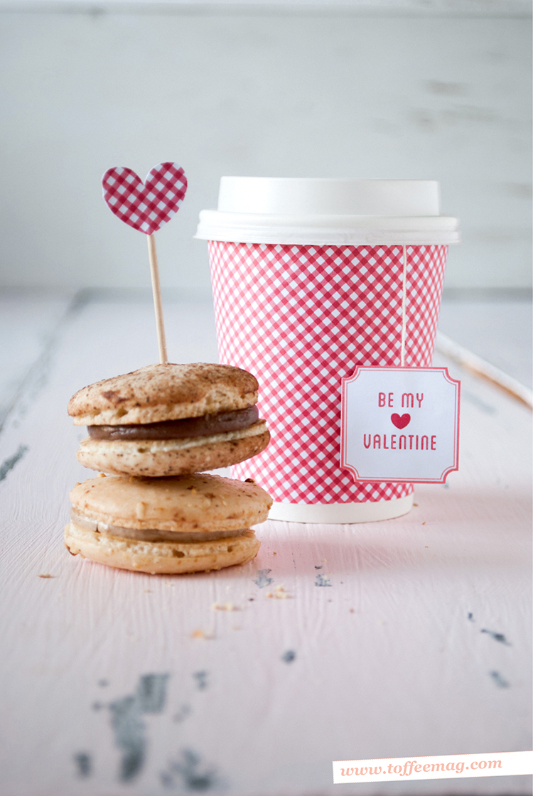 Free Valentine's Day Printables from Toffee magazine