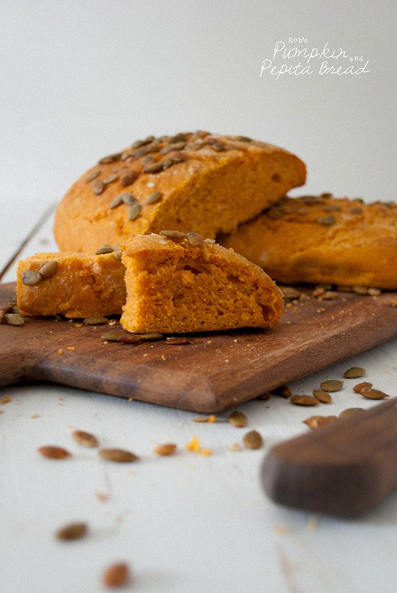 Vegan + Sugar Free - Pumpkin + Pepita Loaf
